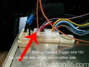 DIY Rear Backup Camera on Bumper (small)  Scion FRS