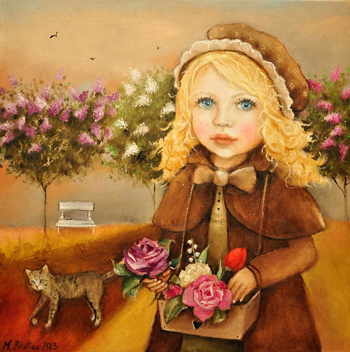 Flower-Girl by Monica Blatton