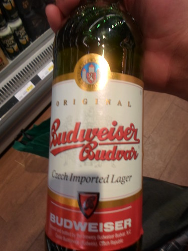 Real Budweiser beer!