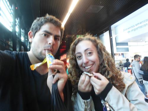 Succumbing to American junk food