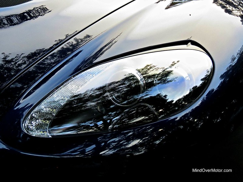 Aston Martin V12 Zagato Headlight