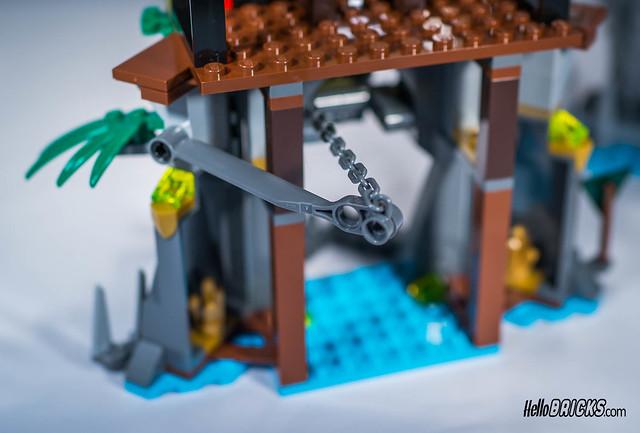 LEGO 70604 Ninjago Tiger Widow Island
