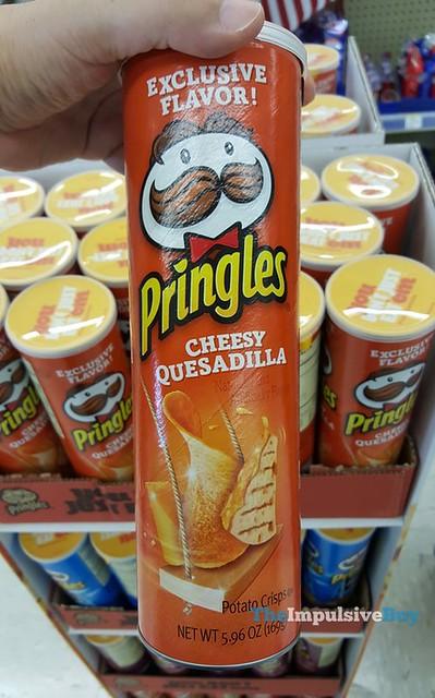 Cheesy Quesadilla Pringles