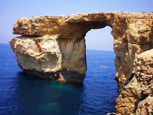 Blue Window, uno de los emblemas del archipiélago maltés