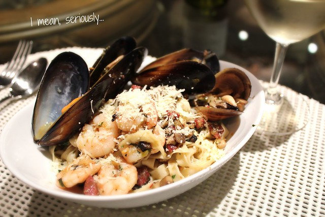 Seafood Pasta from Scratch