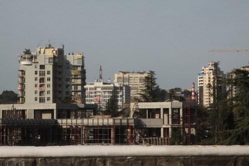 Apartment blocks in Sochi
