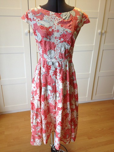 mystery floral dress
