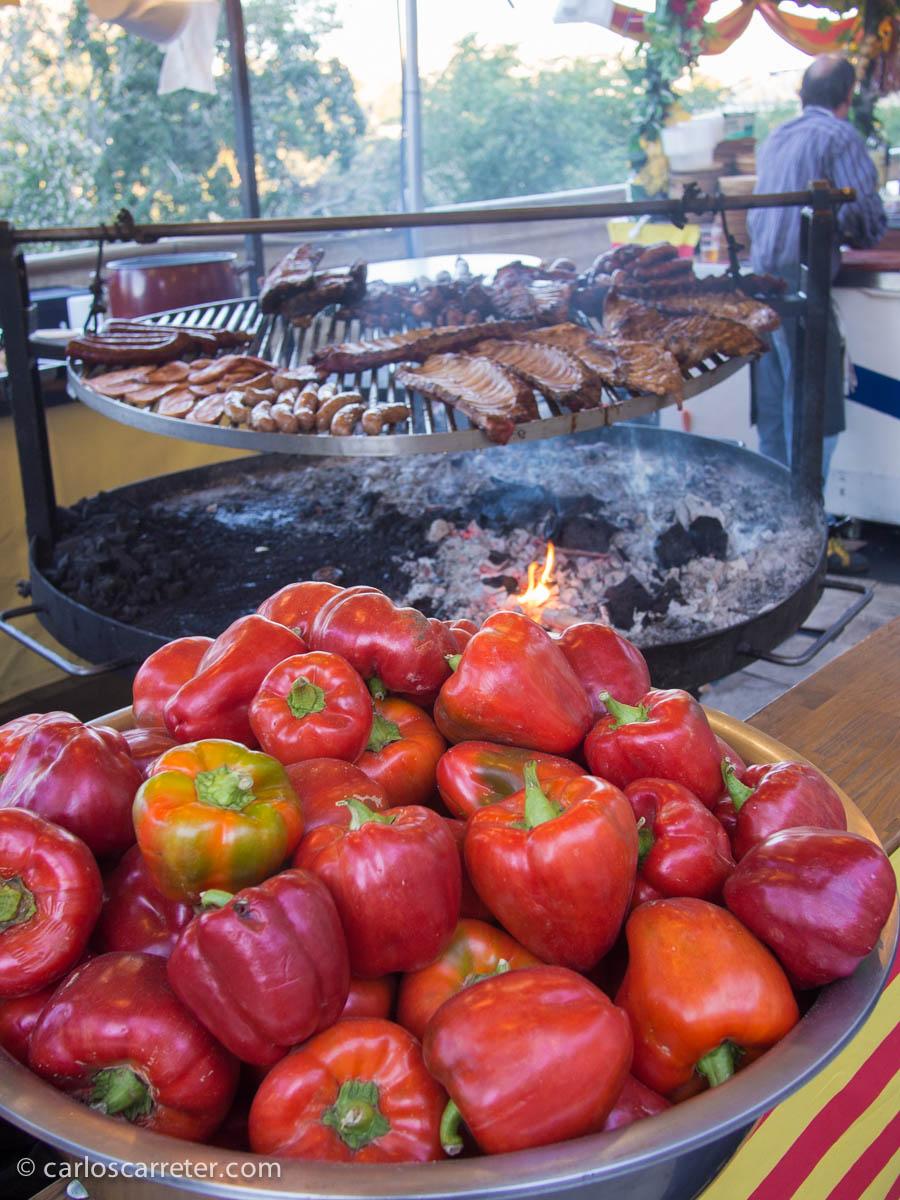 Pimientos y colesterol