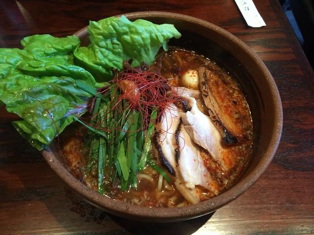 Soy sauce flavor spicy ramen - Ramen Dojo
