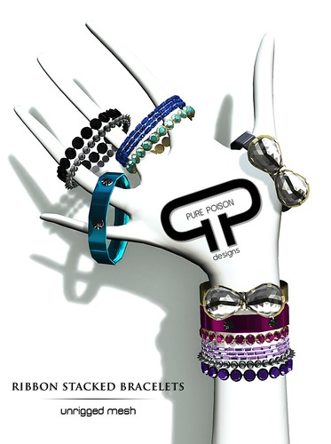PP - Ribbon Stacked Bracelets