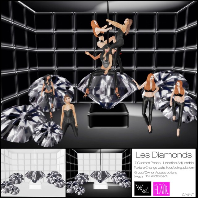 W. Winx & Flair - WinxBox - Les Diamonds - Vendor Picture
