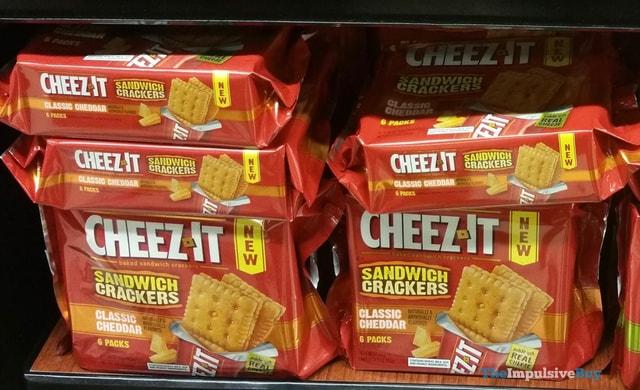 Cheez-It Classic Cheddar Sandwich Crackers