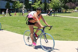 woman on bike 2