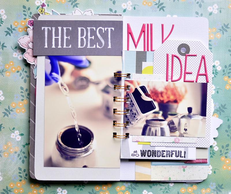 COFFEE  mini album Kasia Tomaszewska 5