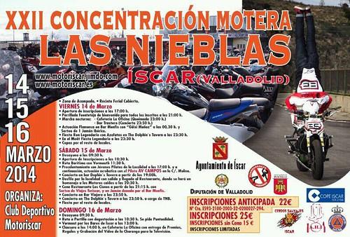 XXII Concentración Motera Las Nieblas - Iscar