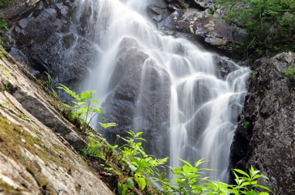 Angel Falls Maine Closeup