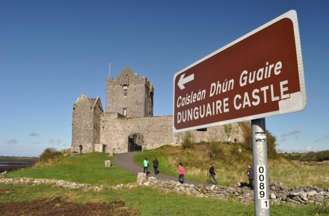 The 16th Century Dunguaire Castle