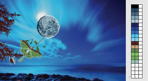 Blue-Luna-Tree-Context by Carmen CS