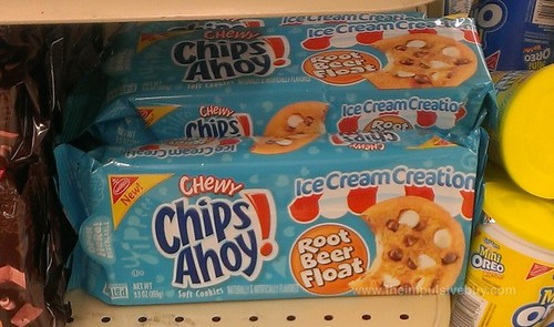 Chewy Chips Ahoy Ice Cream Creations Root Beer Float