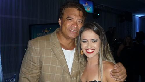 Wlad Costa e sua esposa Amanda Costa
