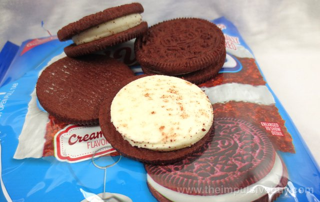 Nabisco Limited Edition Red Velvet Oreo Cookies Topless