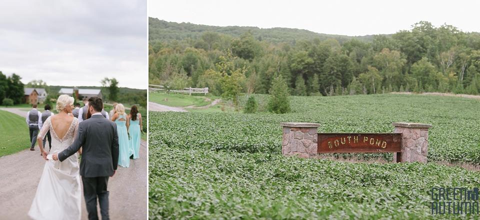 Autumn South Pond Farms Wedding Photography 0057