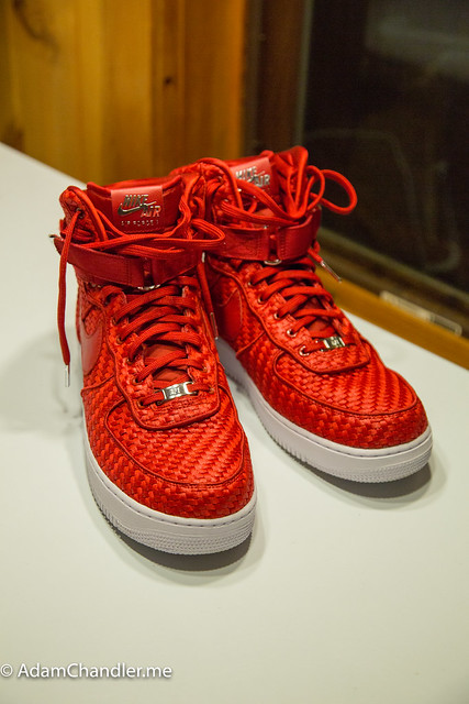 NIKE AIR FORCE 1 HIGH 07 LV8 WOVEN