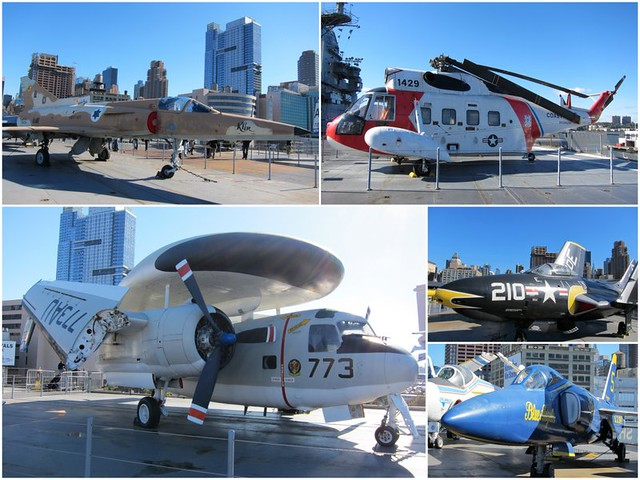Flight deck - Intrepid Museum NYC