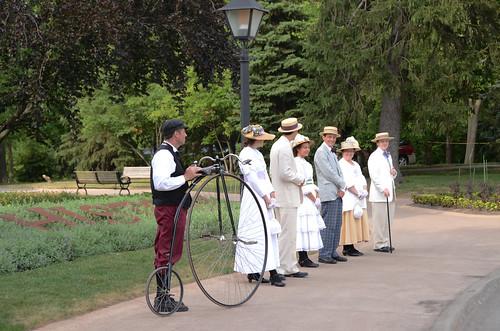Historic greeters
