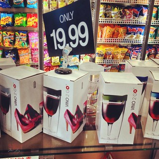 Wine to go glass