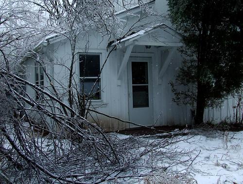 ice storm damage