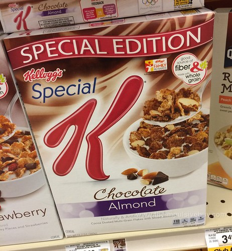 Kellogg's Special K Special Edition Chocolate Almond Cereal
