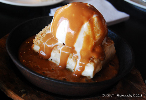 Sizzling Apple Cheesecake