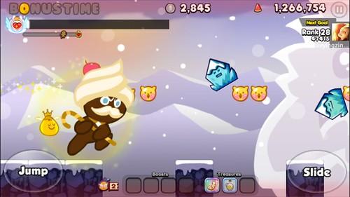 เกม Cookie Run บน Huawei Ascend Y600