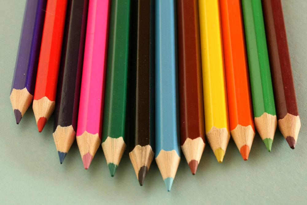 Foto gratis de unos lápices de colores