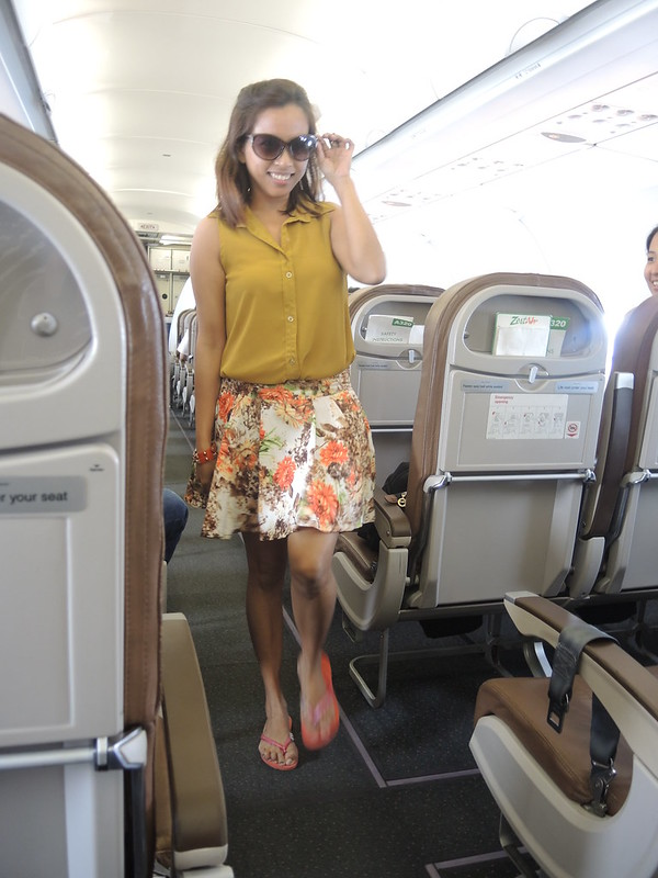 OOTD: 30,000 feet above the ground
