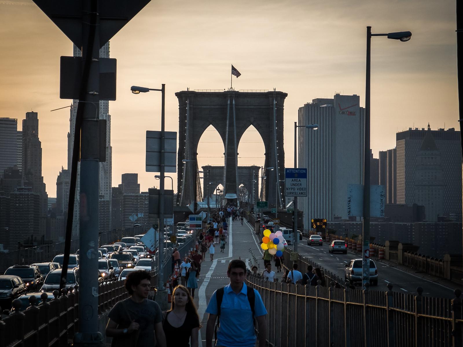 Brooklyn Bridge by wwward0