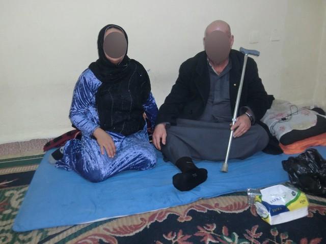 Hamza Raghib and wife