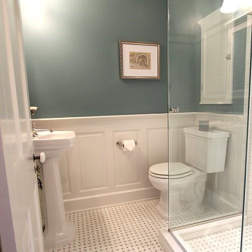 Master Bathroom Design Decisions  Tile vs Wood