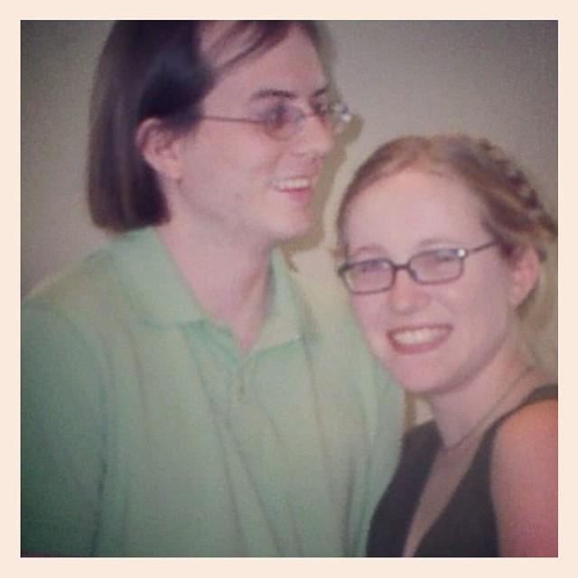 9 years ago today. #tbt #weddinganniversary