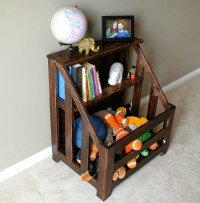 Turtles and Tails: Bookshelf Toybox Combo (DIY)