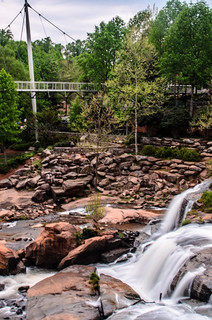 Reedy Falls and Liberty Bridge