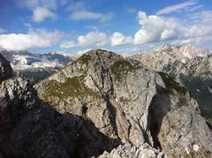 Ausblick vom Gipfel des Sarlkofels