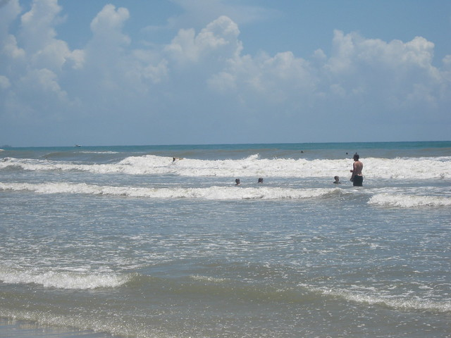 Waves at Cocoa Beach, Florida