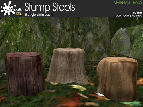 mudhoney stump stools