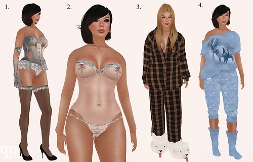 Frozen Hunt Lingerie