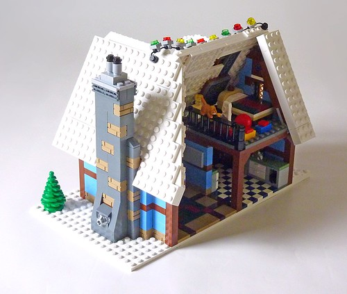 LEGO 10229 Winter Village Cottage b16