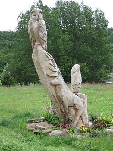 Margrove Park, Steve Iredale Sculpture