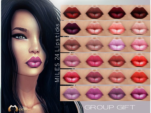 ::Modish:: Miles_ Lipstick Gr.Gift for August