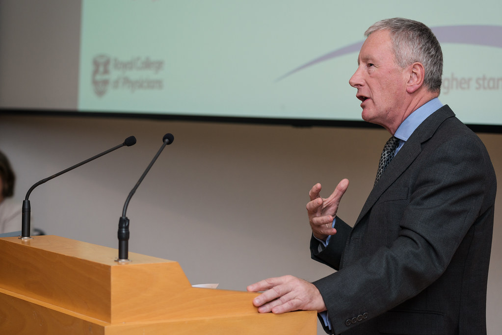 Dr Patrick Cadigan, Registrar of Royal College of Physicians